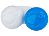 Alensa.co.uk - Contact lenses - Lens Case 3D - blue