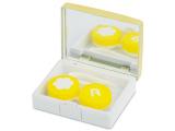 Alensa.co.uk - Contact lenses - Lens Case with mirror Elegant  - gold